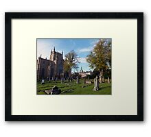 A King's Tomb Framed Print