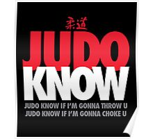Judo Know Poster