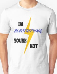 Electrifying Unisex T-Shirt