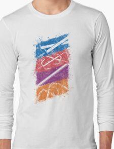 Ninja Weapons of Choice Long Sleeve T-Shirt