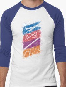 Ninja Weapons of Choice Men's Baseball ¾ T-Shirt
