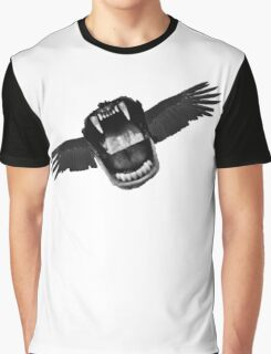 Flappy Mouth Graphic T-Shirt