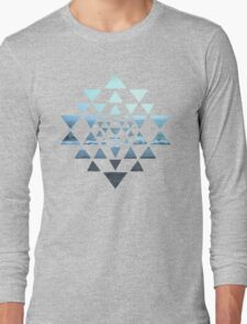 Sri Yantra OceanView Long Sleeve T-Shirt