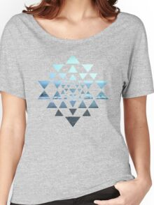 Sri Yantra OceanView Women's Relaxed Fit T-Shirt
