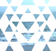 Sri Yantra OceanView Sticker