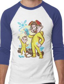 The Legend of Heisenberg Men's Baseball ¾ T-Shirt
