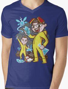 The Legend of Heisenberg Mens V-Neck T-Shirt