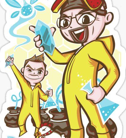 The Legend of Heisenberg Sticker