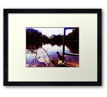 Down By The Bay 2 Framed Print