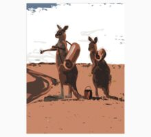 AUSSIE BACKPACKERS by Jon de Graaff