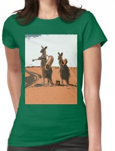 AUSSIE BACKPACKERS Womens Fitted T-Shirt