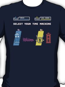 Select Your Time Machine V2 T-Shirt