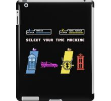 Select Your Time Machine V2 iPad Case/Skin