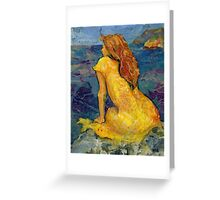 Atlantic Lass Greeting Card