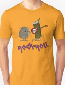 Rock and Roll Funny Side T-Shirt