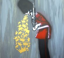 Puke Royal Guard (original sprayed version) by Bela-Manson