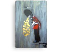 Puke Royal Guard (original sprayed version) Canvas Print