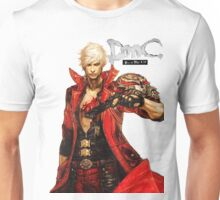 Dante with Red Rose Unisex T-Shirt
