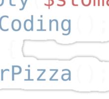 Hungry Coder Sticker