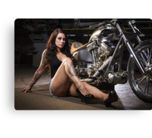 Jessica Pridham @ The Chop Shop Canvas Print
