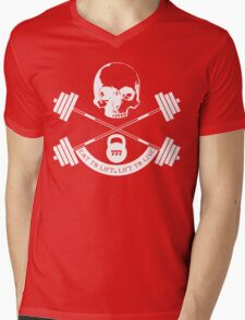 My wife is a weight lifter, so... Mens V-Neck T-Shirt