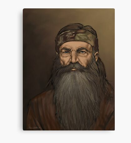 Phil Robertson Canvas Print