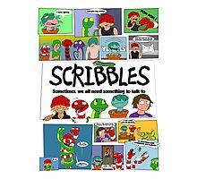 Scribbles Mashup! Photographic Print
