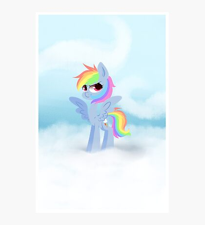 My Little Pony: A Cloudy Day Photographic Print
