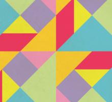 Colorful Tangram Pattern Sticker