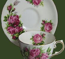 .இڿڰۣ-ڰۣ—ROSE CHINA CUP AND SAUCER.இڿڰۣ-ڰۣ— by ╰⊰✿ℒᵒᶹᵉ Bonita✿⊱╮ Lalonde✿⊱╮