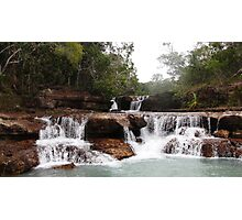 Twin Falls, Cape York Photographic Print