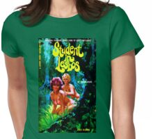 """""""Student In Lesbos"""" Womens Fitted T-Shirt"""