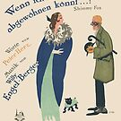 WENN ICH MIR NUR FANNY (vintage illustration) by ART INSPIRED BY MUSIC