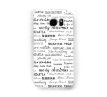 Christmas around the world 2 Samsung Galaxy Case/Skin