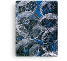 sealife in the macro micro Canvas Print