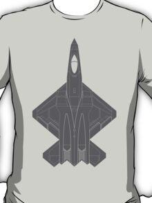Northrop YF-23 Black Widow II T-Shirt