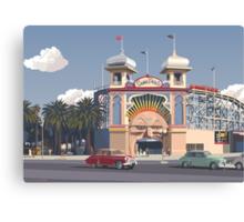 Luna Park - Melbourne Canvas Print