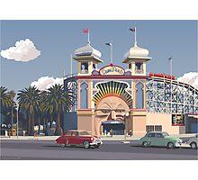Luna Park - Melbourne Photographic Print