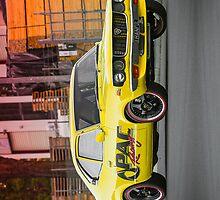 Luke Eberhart's Mazda RX3 Coupe - iPhone Case by HoskingInd