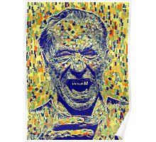 Bukowski Klimt Poster