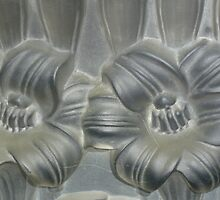 Lalique glass flowers by mrsmcvitty