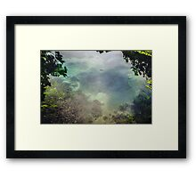 Mystical Pool Framed Print