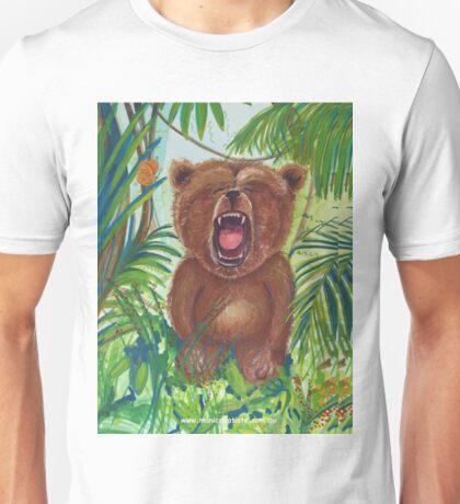 Roaring Teddy Unisex T-Shirt