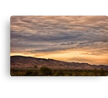 Flinders sunset Canvas Print