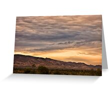 Flinders sunset Greeting Card