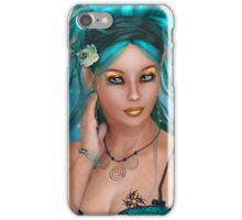Teal Ambience iPhone Case/Skin