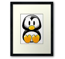 Little Tux Framed Print