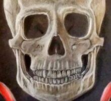 Skull with Jewels Sticker
