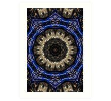 Blue sprocket. Art Print