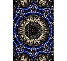 Blue sprocket. Photographic Print